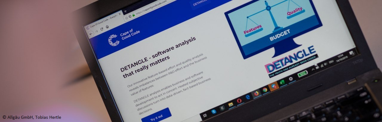 Allgäu Digital: Quality Analysis in Software Development