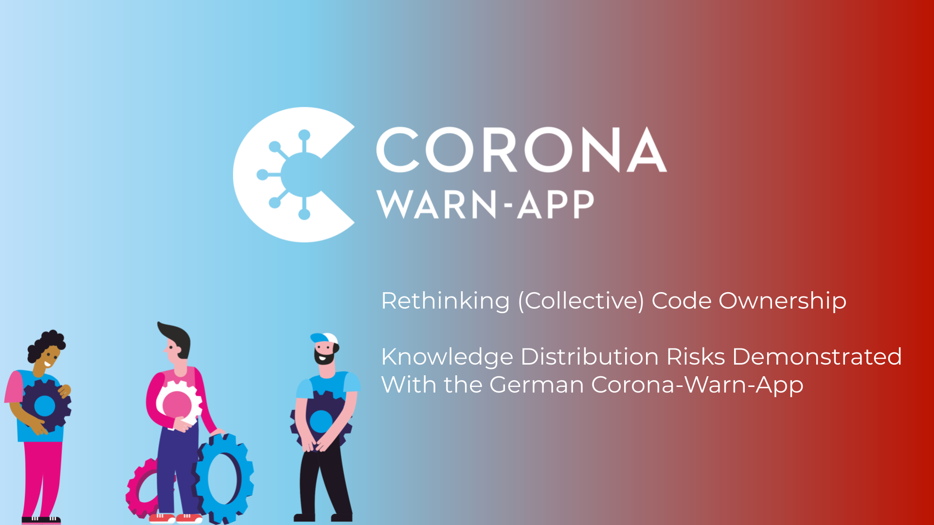 Rethinking (Collective) Code Ownership – Knowledge Distribution Risks Demonstrated With the German Corona-Warn-App